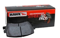 Front - Hawk Performance HPS-5.0 Brake Pads - HB668B.567-D1454