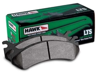Front - Hawk Performance LTS Brake Pads - HB554Y.643-D1039