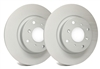 FRONT PAIR - SP Premium Brake Rotors With Gray ZRC Coating - P01-938
