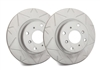 FRONT PAIR - Peak Series Rotors With Gray ZRC - V01-938