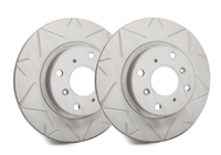 REAR PAIR - Peak Series Rotors With Gray ZRC - V06-3554