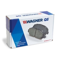 Front - WagnerQS Ceramic Brake Pads - ZD691F