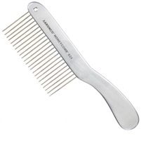 "Honeycomb ""Long Hair"" 8.5"" (23 Coarse Teeth 1 3/4"" Long) Comb"