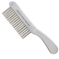 "Honeycomb 8.5""  ""Double Row Finisher"" (51 Medium Teeth 1 3/8 Long) Comb"