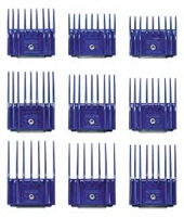 Andis Comb Set of 9 small