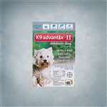 Advantix II Teal (Dogs 11-20lbs) 6 Pack