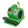 B-AIR Grizzly 1 HP Dryer - Green