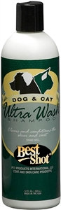 BEST SHOT Ultra Wash 7:1  De-Shedding Shampoo 12.oz
