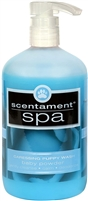 Scentament Spa Caressing Puppy Wash Baby Powder  16.oz