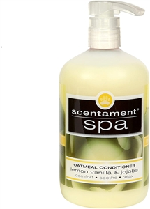 Scentament Spa Oatmeal Conditioner Lemon Vanilla  16.oz
