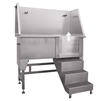 Deluxe Stainless Steel Tub w/ Stairs