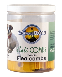 Cali Clean Flea Comb w/ Magnify glass (50 ct Tub)