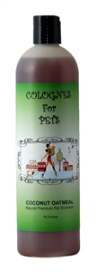 Coconut Oatmeal Shampoo 50:1 16oz by Colognes for Pets