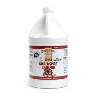 Envirogroom Ginger Spice 50:1 Shampoo Gallon