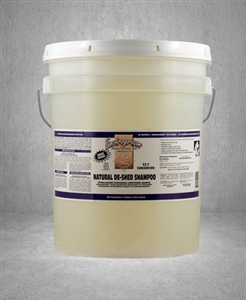 Envirogroom Natural De-Shed Shampoo  5 Gallon Bucket