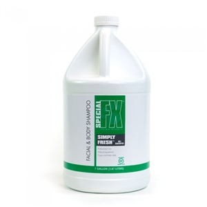 Special FX Simply Fresh 50:1 Facial & Body Shampoo Gallon