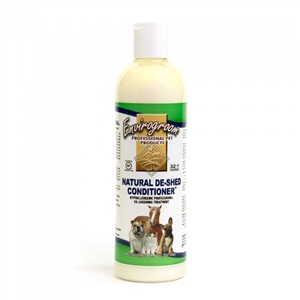 Envirogroom Natural De-Shed 32:1 Conditioner 17.oz
