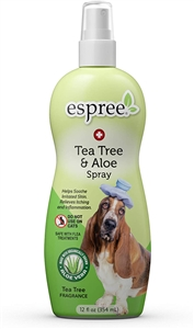 Espree Tea Tree & Aloe Itch Relief Spray 12 oz