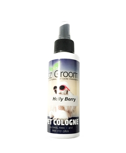EZ-Groom Holly Berry Cologne 4oz