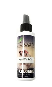 EZ-Groom Vanilla Mist Cologne 4oz