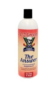 EZ GROOM - The Answer Concentrated Supplement 16oz