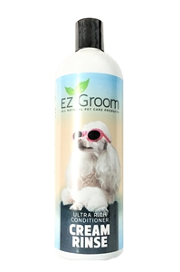 EZ-Groom Ultra Rich Conditioner/ Creme Rinse 16.oz