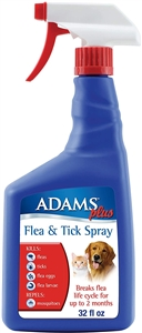 Adams Plus Flea & Tick Spray 32.oz