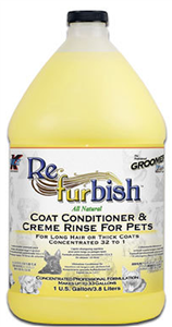 Groomers Edge Re-Fur-Bish 32:1 Conditioner Gallon