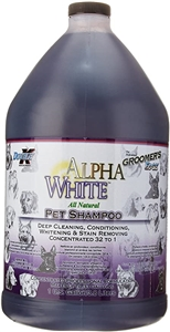 Groomers Edge Alpha White 32:1 Shampoo Gallon
