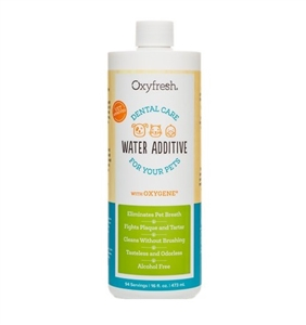 Oxyfresh Pet Oral Hygiene Solution - 16 oz