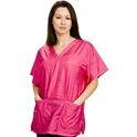 Stylist Wear Scrub Top - Solid Color