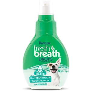 TROPICLEAN Fresh Breath Drops 2.2oz