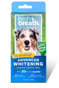 Fresh Breath Advanced Whitening Clean Teeth Gel 4.oz