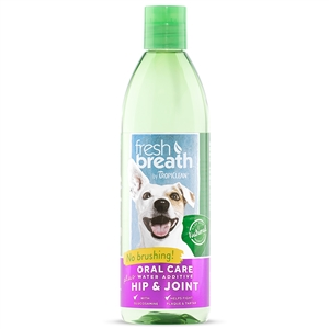 Tropiclean Fresh Breath Plus Water Additive Hip & Joint 16oz