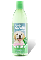 TROPICLEAN Fresh Breath Oral Care Water Additive for Puppies 16oz *** TEMP OUT OF STOCK ***