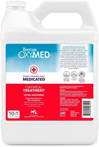 Tropiclean Oxy Med Treatment Rinse Gallon