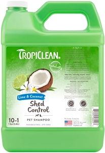 Tropiclean De Shedding Lime & Coconut Shampoo Gallon