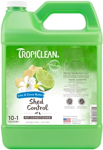 Tropiclean De Shedding Lime & Cocoa Butter Conditioner Gallon