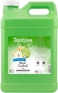 Tropiclean De Shedding Lime & Cocoa Butter Conditioner  2.5 Gallon