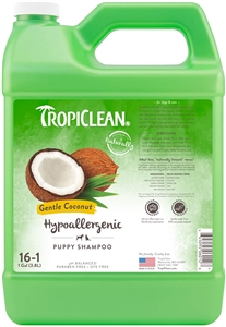Tropiclean Hypo Allergenic Gentle Coconut Puppy Shampoo