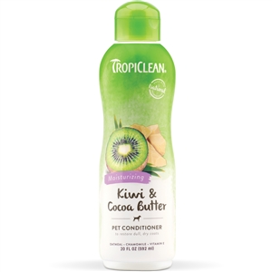 Tropiclean Kiwi & Cocoa Butter Conditioner 20.oz