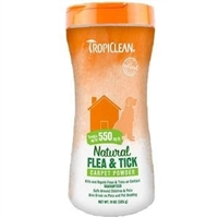 Tropiclean Flea and Tick Carpet Powder 11oz