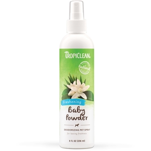 Tropiclean Baby Powder Cologne 8.oz