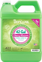 Tropiclean Highly Concentrated Cherry Blossom Shampoo Gallon