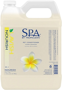 Tropiclean SPA Nourish Vitamin Conditioner Gallon