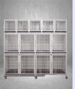 Powder Coated 11 Bank Professional Modular Standard Combination Cage System