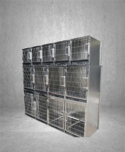 Stainless Steel Standard Combination 11 Bank Cage System