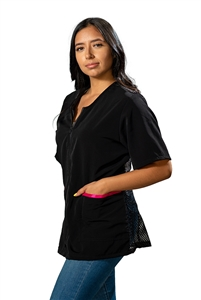 Women's Premium Mesh Back Jacket - Large/Black
