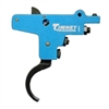 Timney Trigger 103 for Swedish 94/96 or Spanish 93/95 Mauser's Adjustable from 2 LBS to 4 LBS with 3 LB Default Aluminum Blue