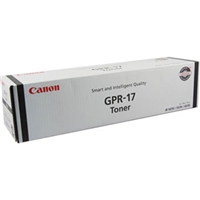 Canon 0279B003AA (GPR-17) OEM Black Toner Cartridge